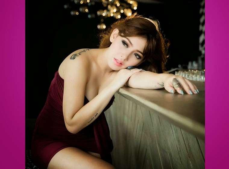 Hot Pictures Zahra Jasmine on Male Edisi 116