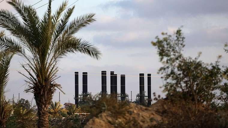 Pembangkit tenaga listrik di Gaza
