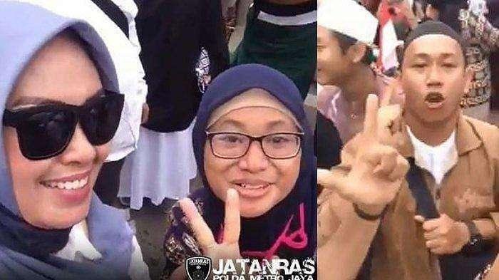 2 wanita yang ada di video ancam penggal Jokowi.