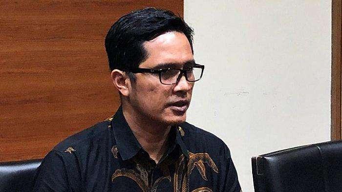 Juru Bicara KPK Febri Diansyah di kantor KPK, Jakarta Selatan, Senin (29/4/2019).