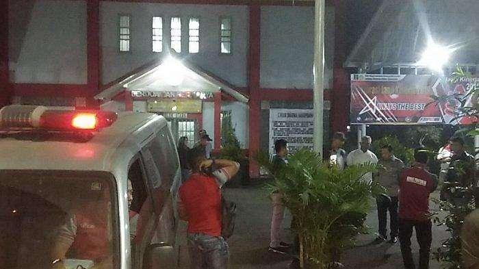 Proses pemindahan tahanan Setya Novanto dari Lapas Sukamiskin Bandung ke Lapas Gunung Sindur Bogor