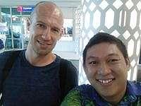 Arjen Robben Liburan ke Labuan Bajo