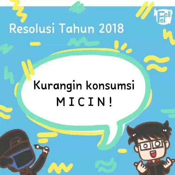 10 Meme 'Resolusi Tahun 2018' yang Kocaknya Gurih Banget