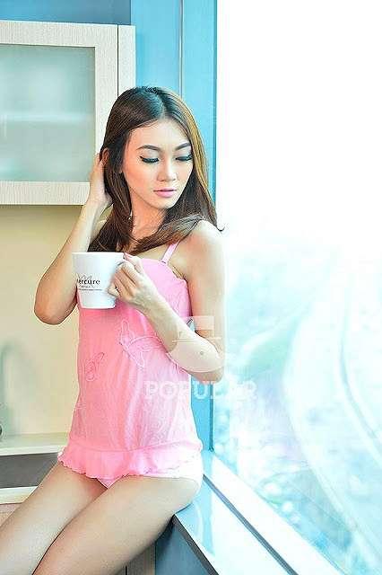 Oktavia Electra Pink Lingerie Popular Model