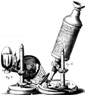 Mikroskop Antoni Van Leeuwenhoek