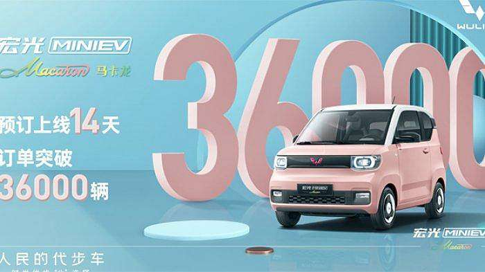 Mobil Listri Mini Wuling Debut di China_1