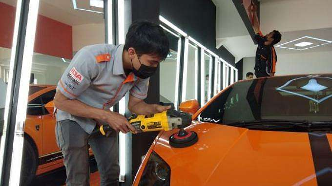 Mark Auto Detailing and Nano Ceramic Coating resmi membuka dealer baru di Bursa Otomotif Sunter, Blok G No 19, Jalan Yos Sudarso, Sunter Jaya, Jakarta Utara.