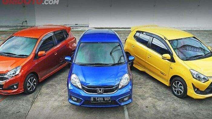 Honda Brio Satya, Daihatsu Ayla dan Toyota Agya yang bisa kalian beli dengan penawaran menarik selama gelaran Indonesia Otomotif Online Festival (IOOF) 2020.