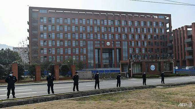 Institut Virologi Wuhan di Wuhan, Provinsi Hubei tengah China.