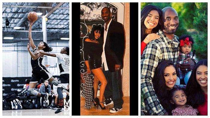 Kobe Bryant dan Keluarga Kolase Instagram Vanessa Bryant
