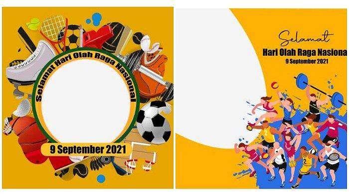 Kumpulan link Twibbon untuk membuat kartu ucapan Selamat Hari Olahraga Nasional/Haornas yang diperingati setiap 9 September.
