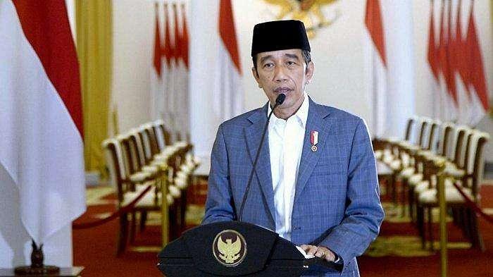 Presiden Joko Widodo memberikan sambutan pada acara peringatan Maulid Nabi Muhammad Saw secara virtual, Kamis (29/10/2020).