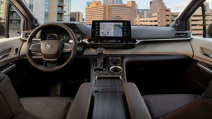 Toyota Sienna Hybrid interior