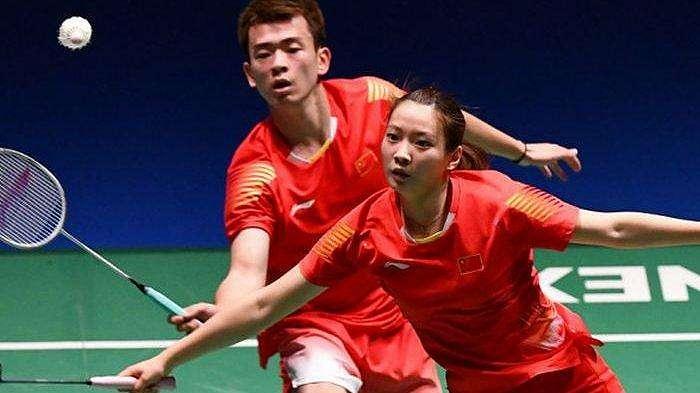 Pasangan ganda campuran China, Zheng Siwei/Huang Yaqiong.
