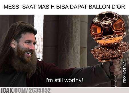 meme lucu ballon dor 2019 © berbagai sumber