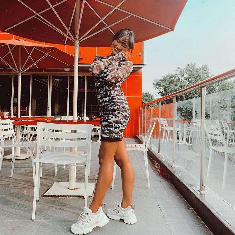 Marion Jola mini dress Instagram