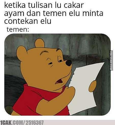 Meme tulisan jelek © 2019