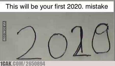 meme lucu hari pertama 2020 © 2020 1cak.com