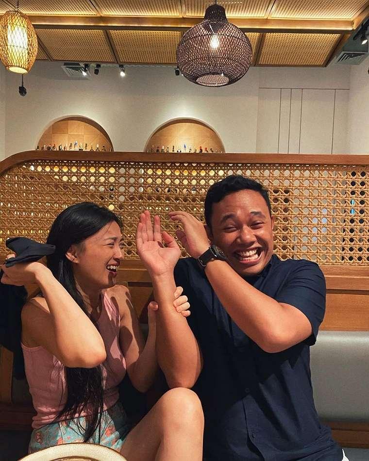 Chef Priscil dan pacar Instagram