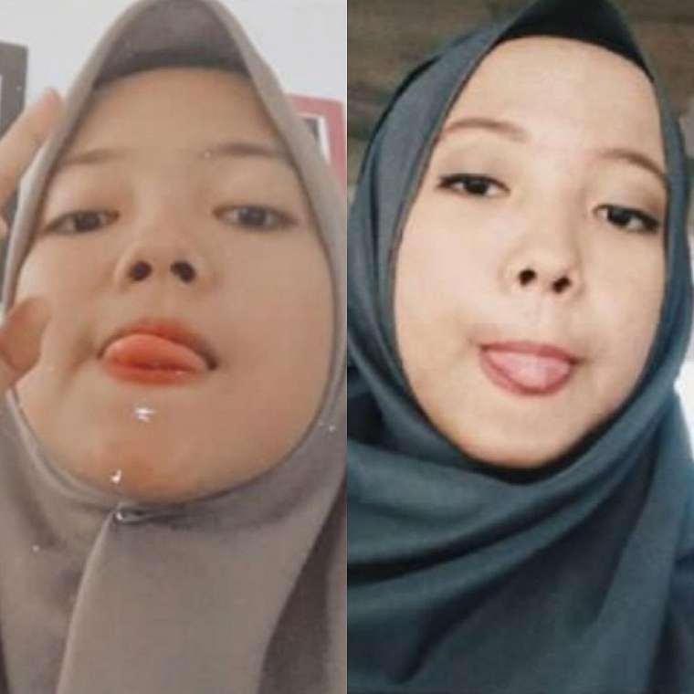 viral kembar bertemu usai 16 tahun © Twitter/@bileeuww