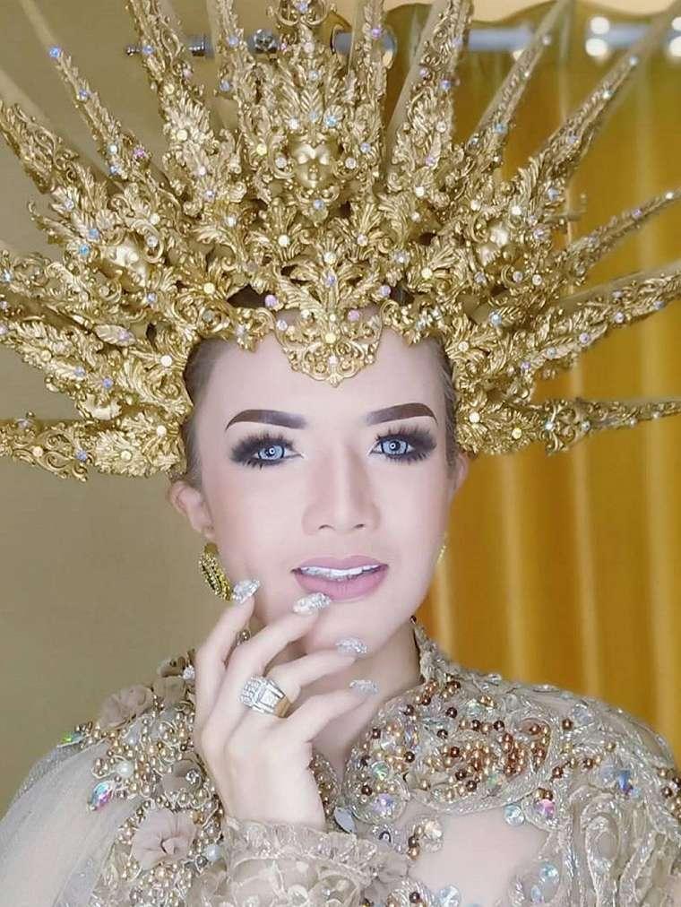 6 Potret Barbie Kumalasari jadi model pengantin, bikin pangling © 2020 instagram.com
