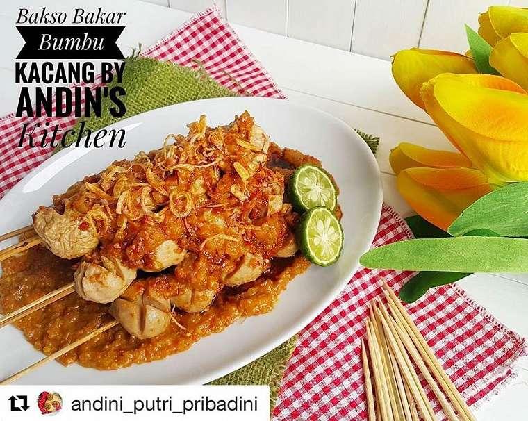 Resep bakso bakar enak Instagram/@susie.agung @numpangsaveresep.id