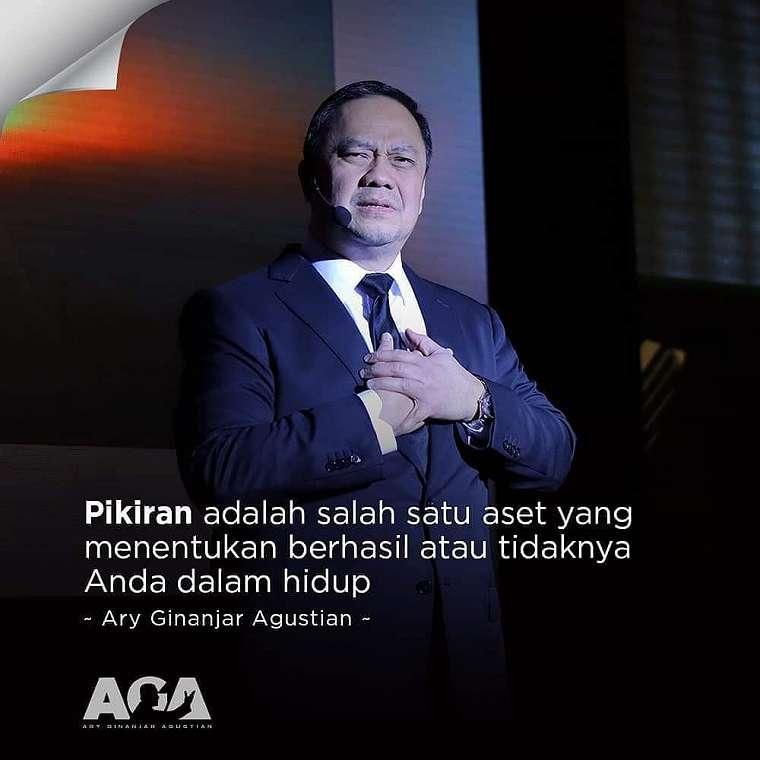 Kata-kata quote bijak Ari Ginanjar Instagram/@irarumahcikunir @saropudin12
