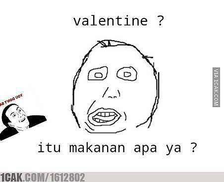 Meme Valentine 2020 1cak.com