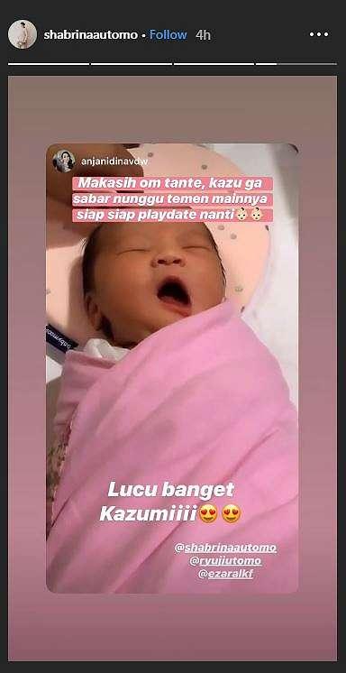 Anak Ryuji Utomo Instagram
