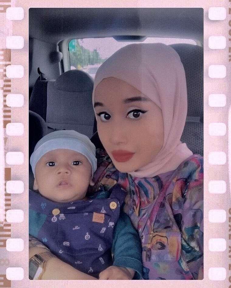 potret Nabila hijabers viral mirip Ariana berbagai sumber