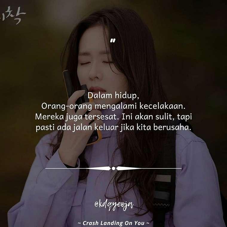 40 Kata-kata bijak dari drama Korea, inspiratif © 2020