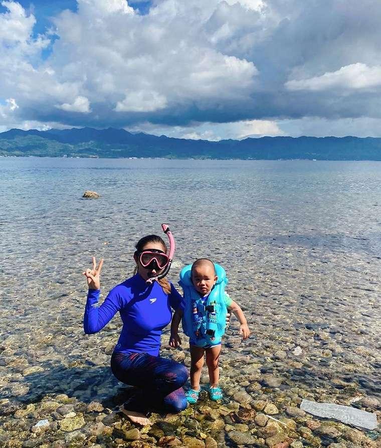 Potret karantina Bella Shofie di Ambon instagram
