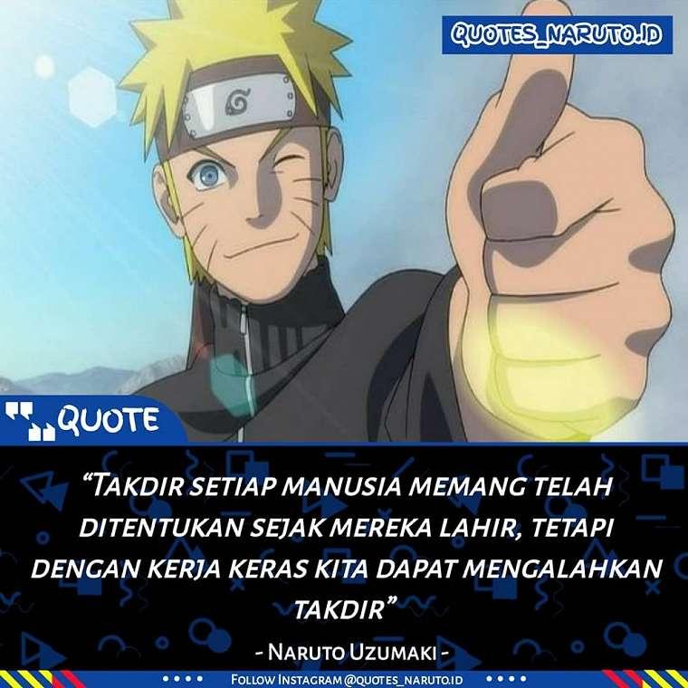 Kata-kata motivasi Naruto Boruto berbagai sumber