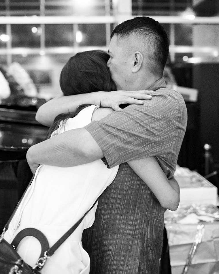 momen kebersamaan mikha tambayong dan sang ayah instagram