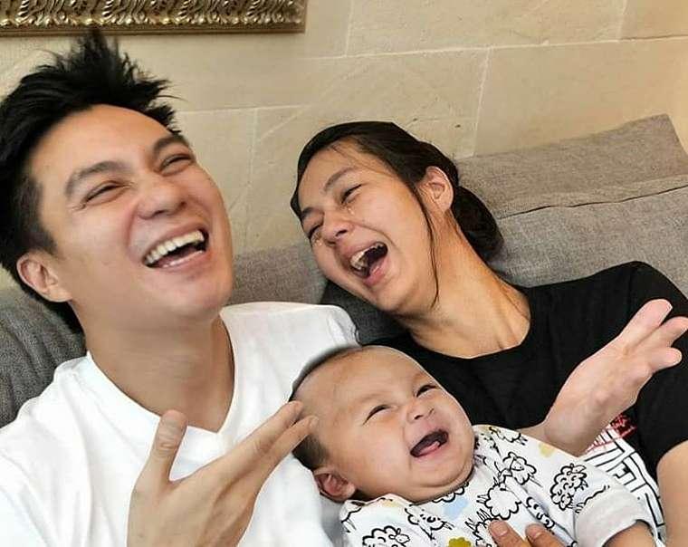 Baim Wong dan keluarga © 2020