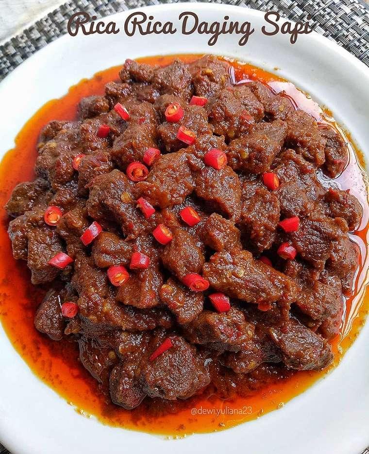 Resep daging tanpa santan © 2020