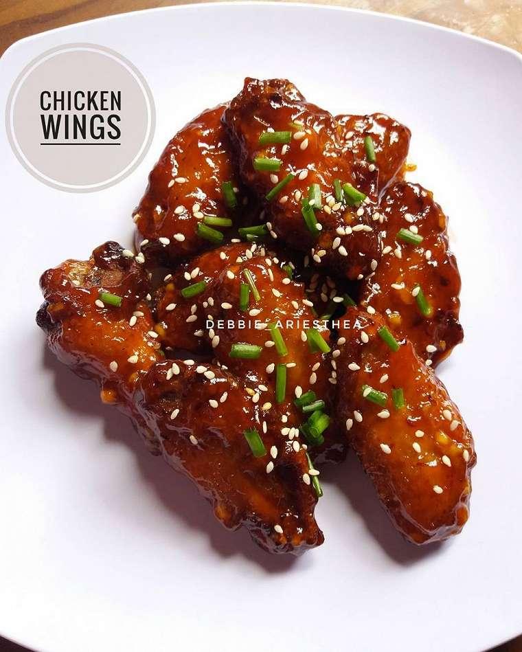 Resep ayam khas Internasional    2020