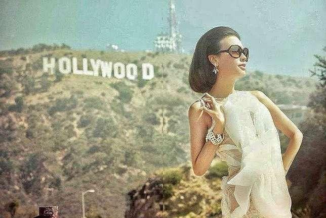 Sophia Latjuba jadi model di Los Angeles Instagram    2021