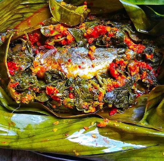 resep pepes daun singkong Instagram ; Cookpad    2021