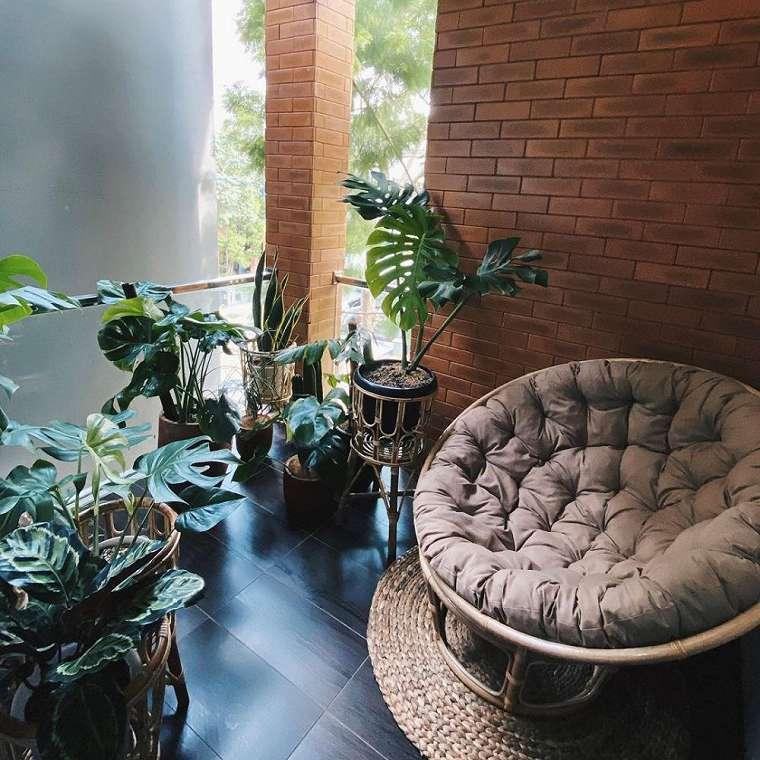 Penampakan kebun seleb di balkon    berbagai sumber