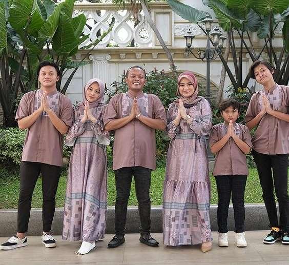 keluarga Sule rayakan lebaran    2021