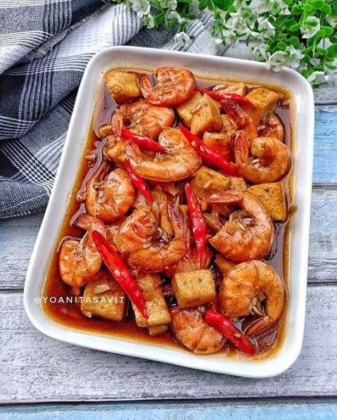resep udang saus tiram    berbagai sumber