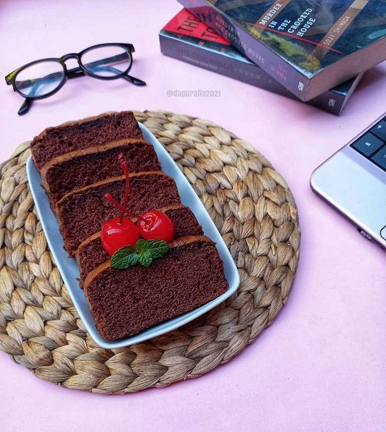 Resep bolu cokelat ala rumahan    Instagram