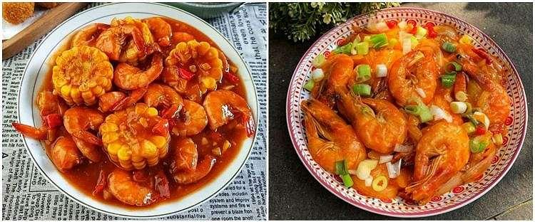 11 Resep udang saus Padang, bumbunya nendang & mudah dibuat