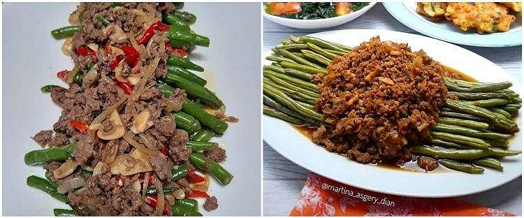 9 Resep tumis buncis daging, menu sederhana dan menggugah selera