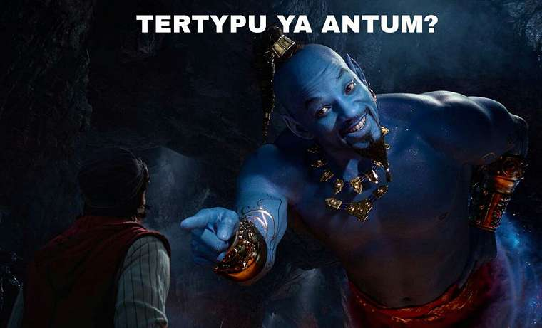 meme will smith aladdin © Twitter