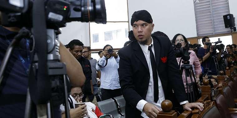 Ahmad Dhani Berterima Kasih Atas Pencabutan 6 Poin BAP di Sidang Lanjutan.
