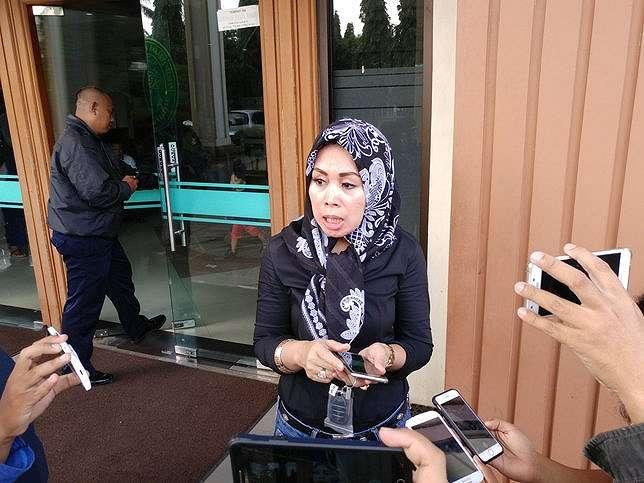 Anita Desy Farida ungkap jika dirinya masih ingin mempertahankan rumah tangga dengan Abdee © KapanLagi.com/Akbar Prabowo Triyuwono