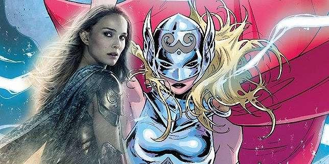 Jane Foster akan menjadi Mighty Thor di THOR: LOVE AND THUNDER