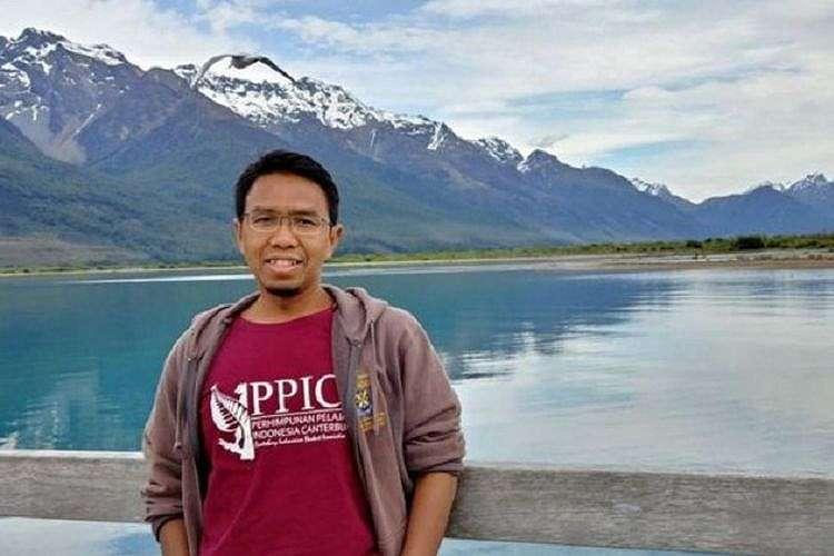 Irfan Yunianto, mahasiswa S3 di Christchurch yang dapat menyelamatkan diri dari aksi penembakan di Masjid Al Noor. (Dok Pribadi/BBC Indonesia)
